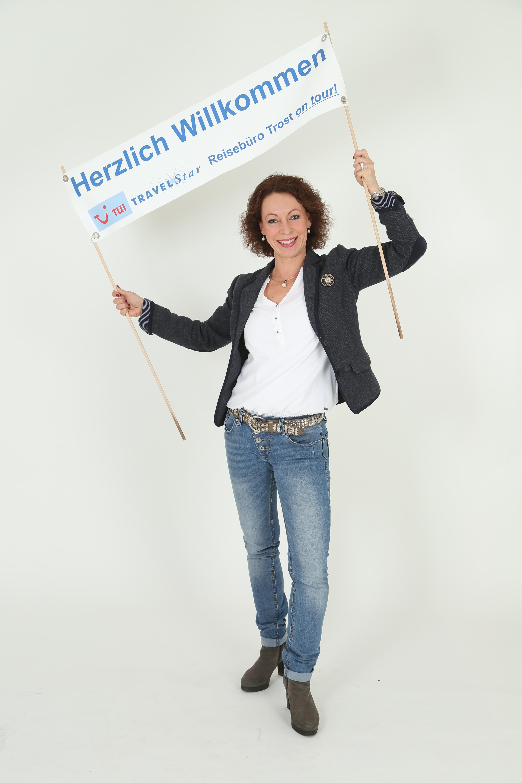 """""""Reisebüro Trost"""" – Chefin Frau Hermsdorf"""